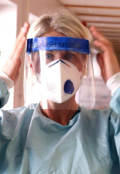 Ellen Vänerlind, intensivvårdssjuksköterska.